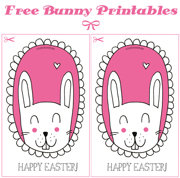This is a graphic of Free Printable Easter Cards regarding love