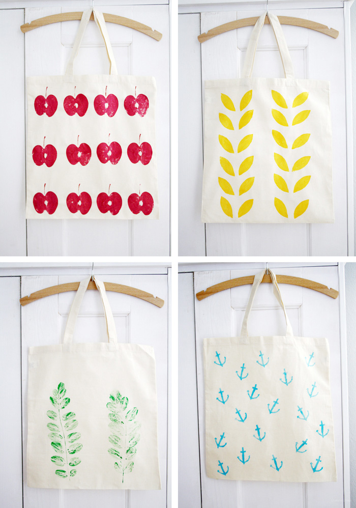 Diy Textile Printing Techniques And Inspiration Luloveshandmade