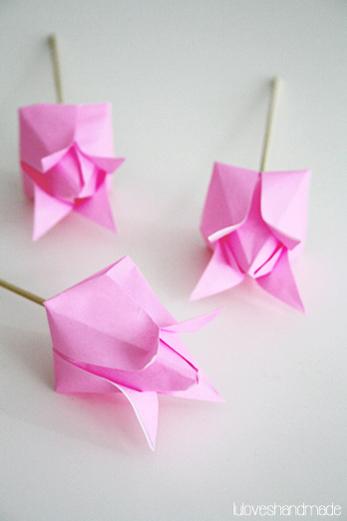 Origami Tulip | 521x347