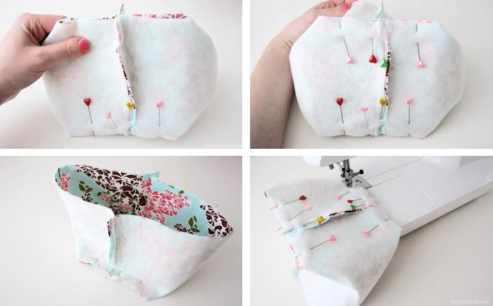 DIY: Fabric Basket Sewing Tutorial - Luloveshandmade