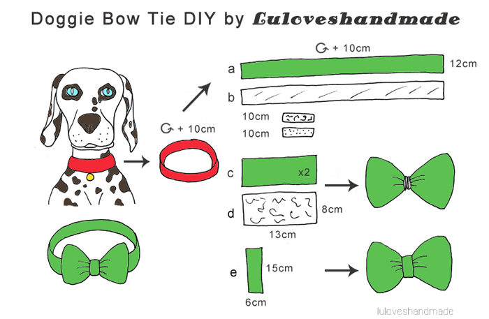 how to make a bow tie without a sewing machine