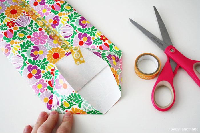 graphic regarding Printable Gift Bags known as Do-it-yourself: Present Bag with Animal Printable - Luloveshandmade