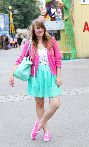 Colorful Outfit Ideas for Warm and Sunny Days ...