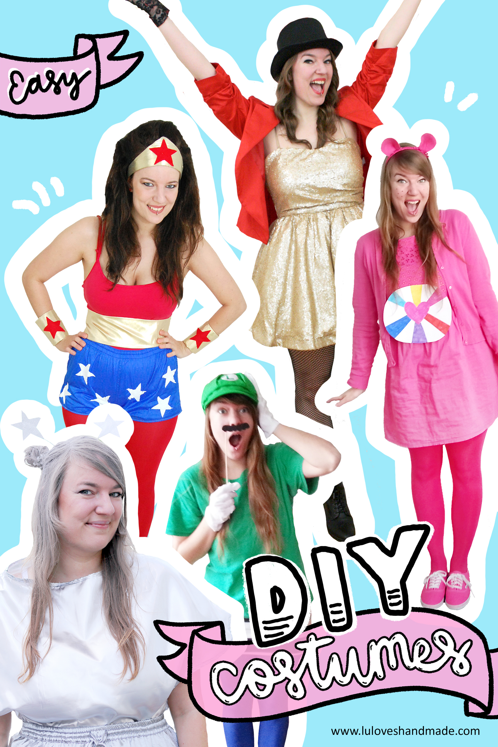Easy DIY costumes_Pinterest_2